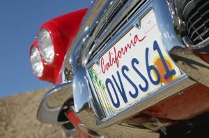 license plate California heiditravelsusa.nl