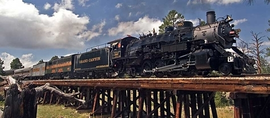 Grand Canyon Railway heiditravelsusa.nl
