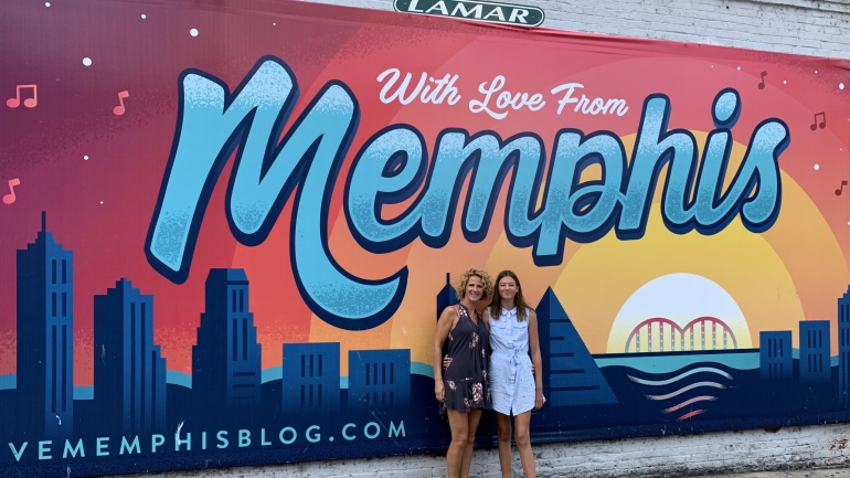 When I was walking in Memphis Tennessee rondreis Amerika heiditravelsusa.nl